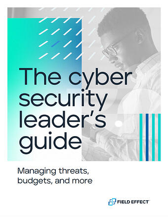 Cyber Security Leaders Guide Cover